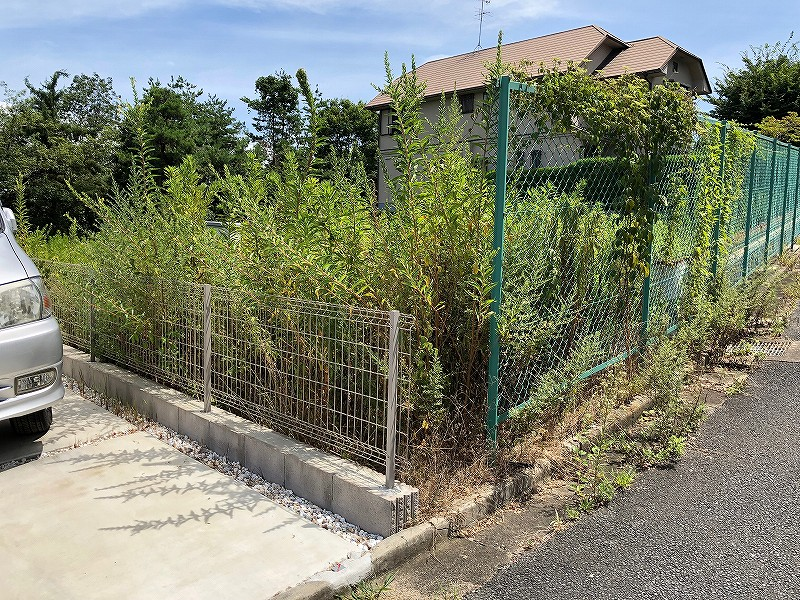 草刈り 奈良 オークホーム